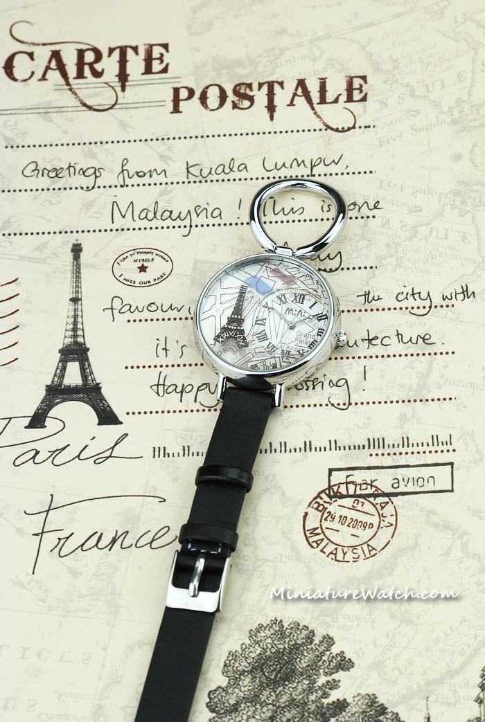 Eiffel Tower Paris Mini Watch 2