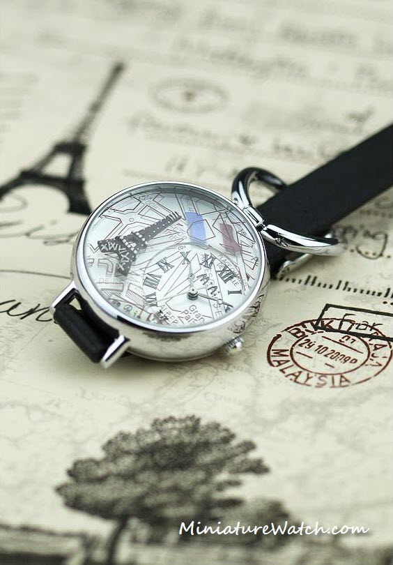 Eiffel Tower Paris Mini Watch 3