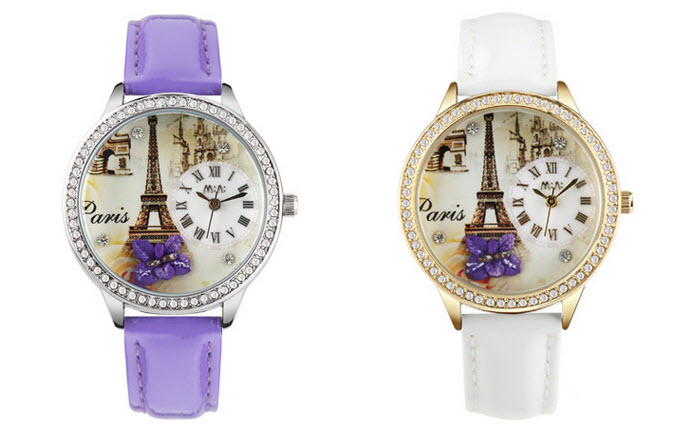 Elegant Paris Mini Watch 1