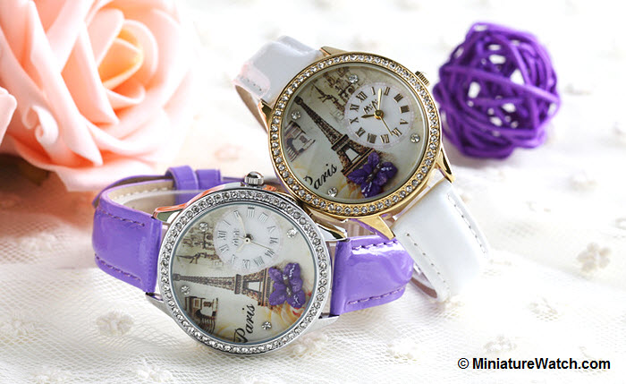 Elegant Paris Mini Watch 2