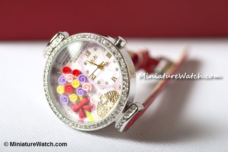 Flower Bouquets Mini Watch