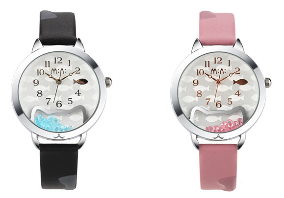 Kitty Fish Mini Watch