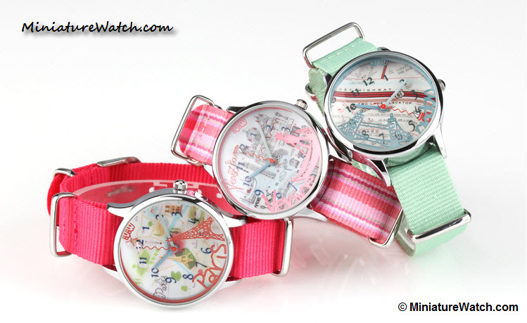 Lovely travel mini watch 2