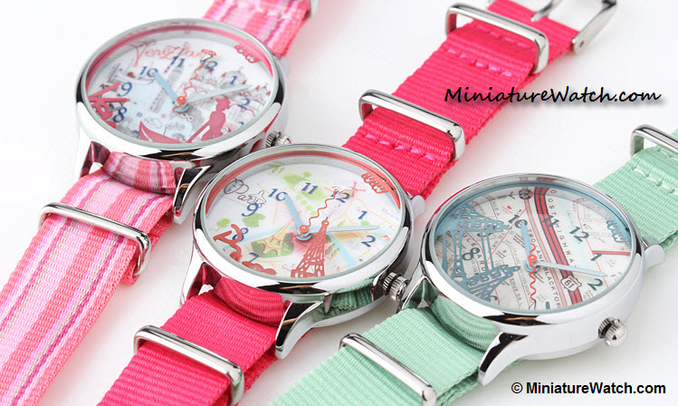 Lovely travel mini watch 3
