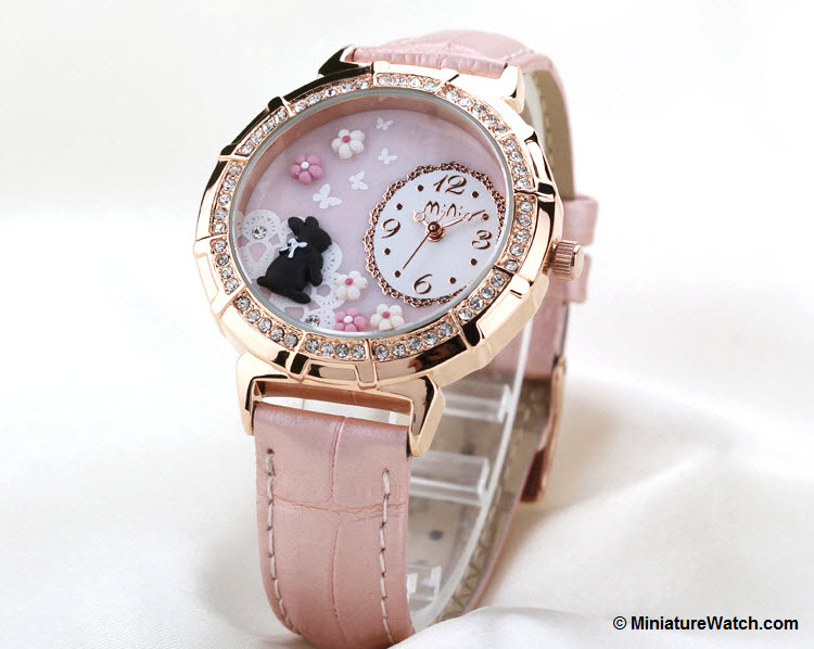 Princess Rabbit Mini Watch Pink 1