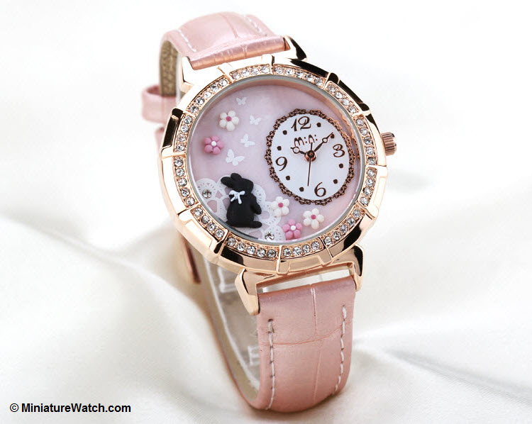 Princess Rabbit Mini Watch Pink 2