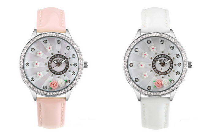 blooming flower mini watch 1
