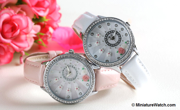 blooming flower mini watch 4