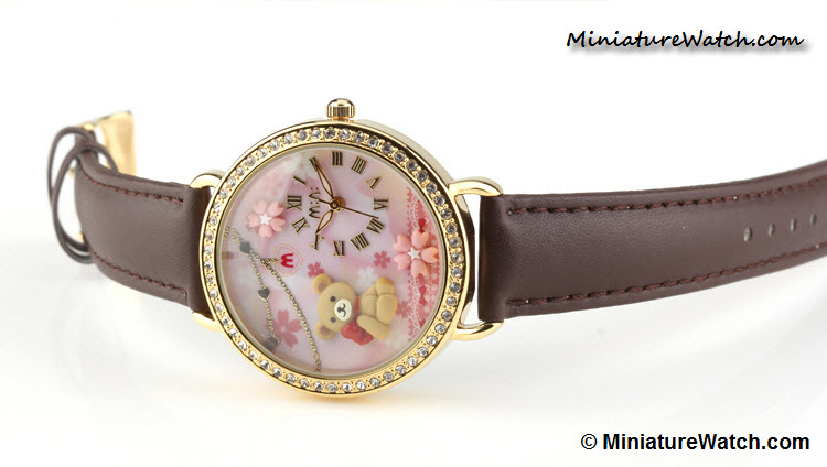 cute teddy bear mini watch 3