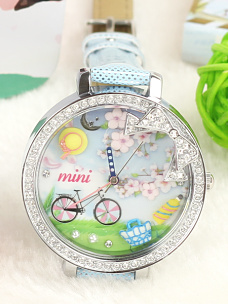 Romantic Picnic Mini Watch