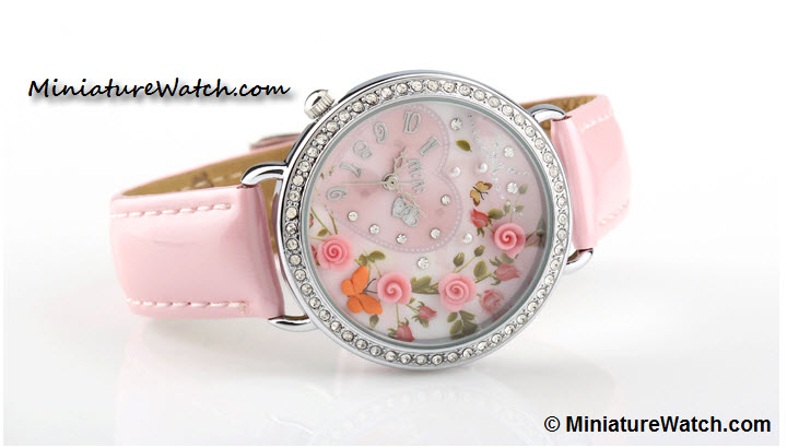 love and romance mini watch