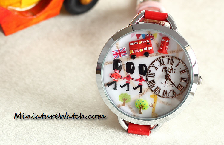 red london mini watch 1