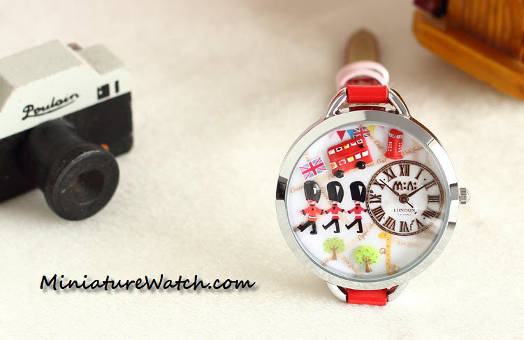 red london mini watch 3