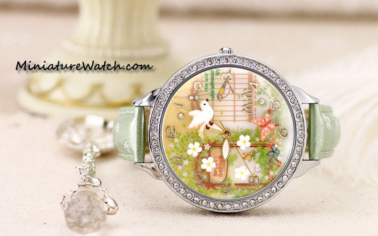 secret garden mini watch double glass 2