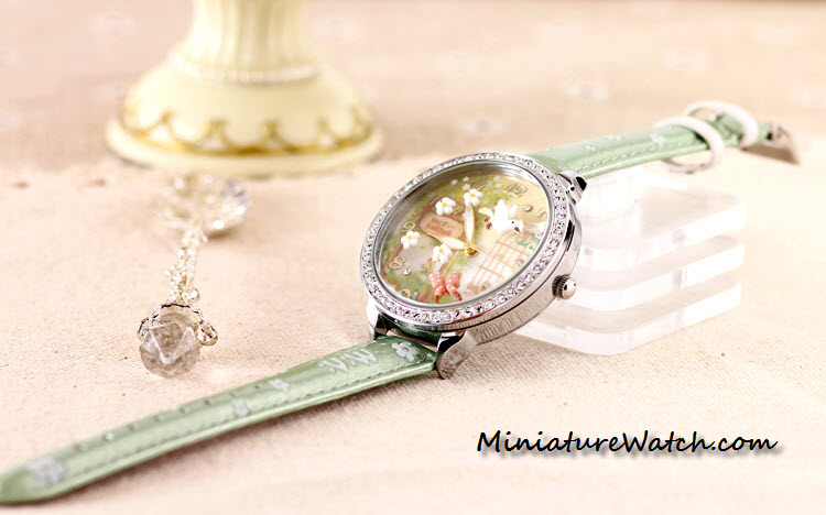 secret garden mini watch double glass 3
