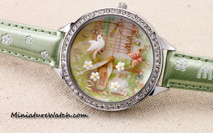 secret garden mini watch double glass 4