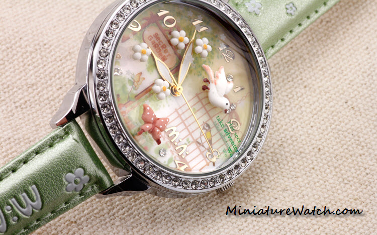 secret garden mini watch double glass 5