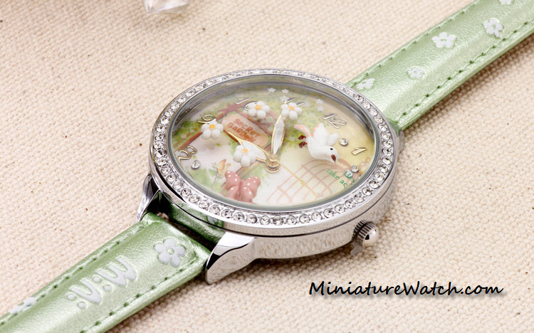secret garden mini watch double glass 6