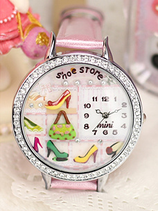 Beautiful Shoe Store Mini Watch