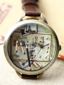 Sweet School Memories Mini Watch