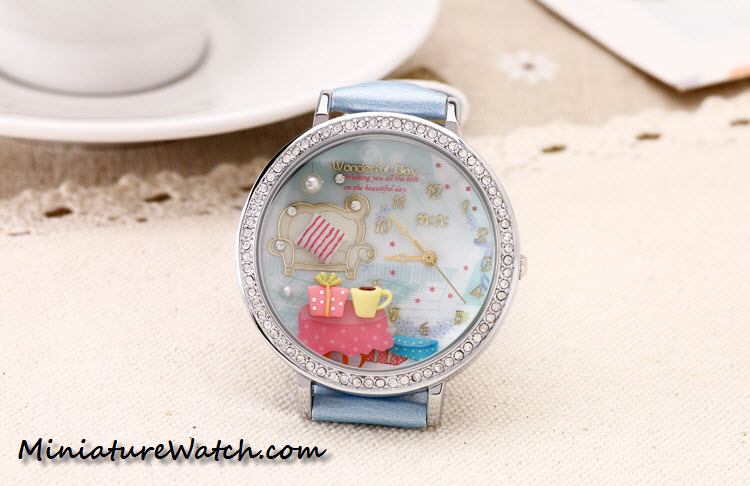 wonderful day double glass mini watch 4