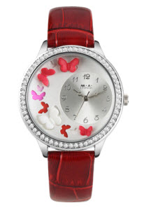 Butterfly Mini Watch Red thumb 2