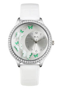 Butterfly Mini Watch White thumb