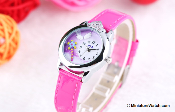 Little Angel Kids Mini Watch Red 1