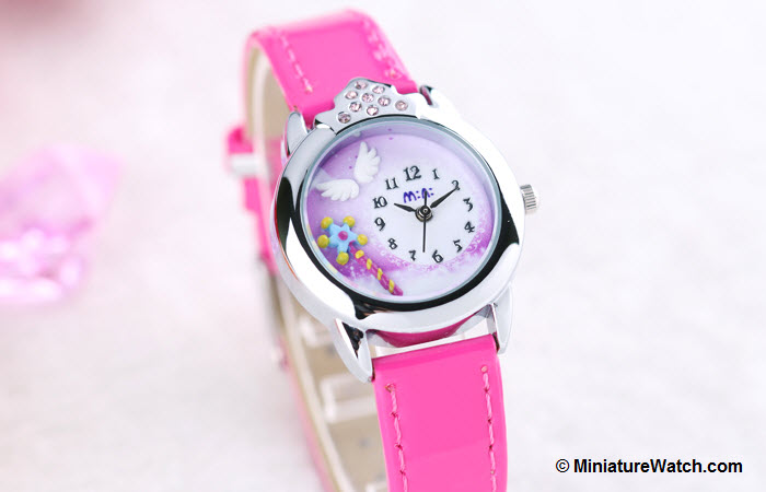 Little Angel Kids Mini Watch Red 2