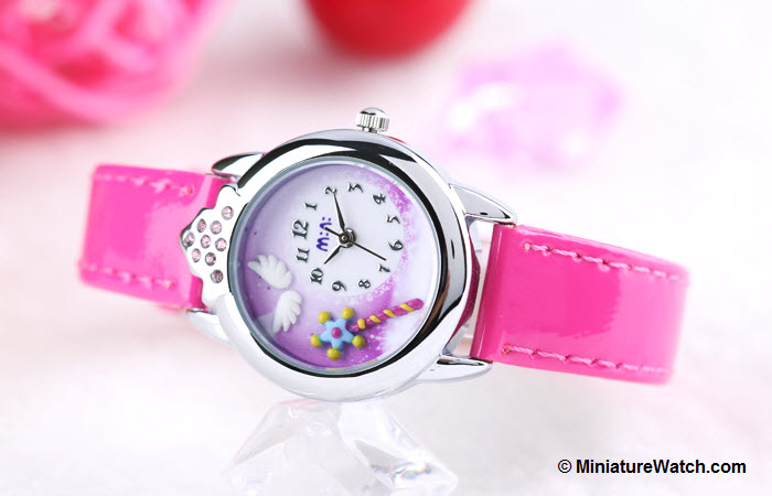 Little Angel Kids Mini Watch Red 3