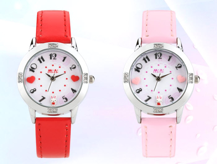 Lovely Bunny Kids Mini Watch