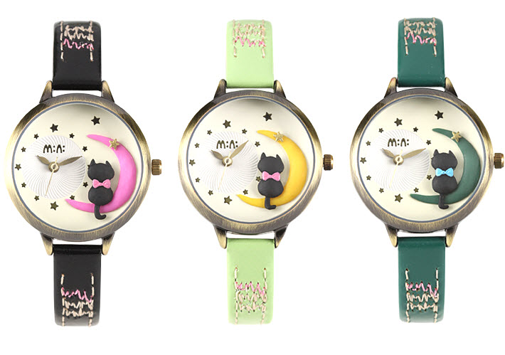 Moon Cat Mini Watch 1