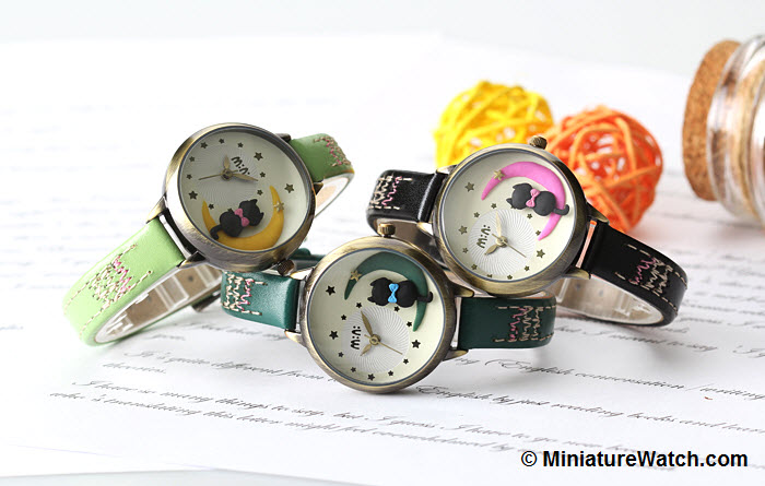 Moon Cat Mini Watch 2