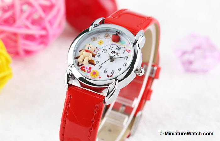 Teddy Garden Kids Mini Watch Red 3