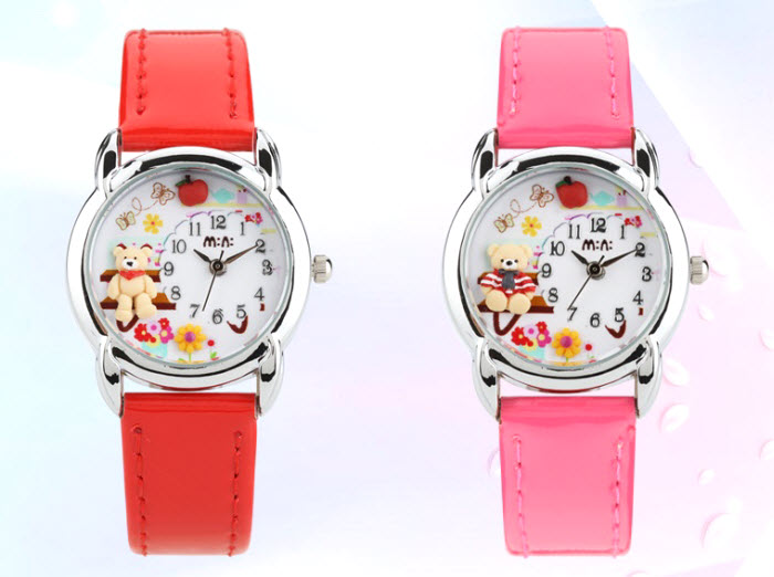 Teddy Garden Kids Mini Watch