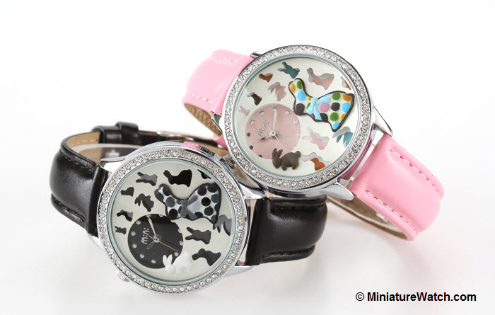stylish rabbit mini watch 1