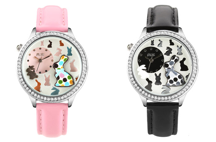 stylish rabbit mini watch 2